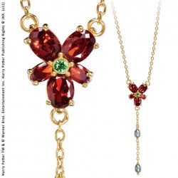Collier Crystal Rouge...