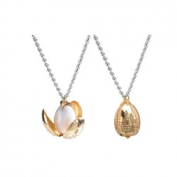 Collier Oeuf d'or
