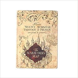 Plaque Carte du maraudeur