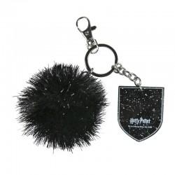 Porte-clés Pompon Noir...