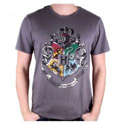 T-Shirt Poudlard Gris