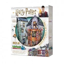 Puzzle 3D Boutiques Weasley...