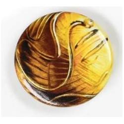 Badge Bouton Vif d'or