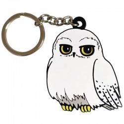 Porte-clés Hedwige caoutchouc