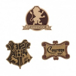 Lot de 3 Badges Gryffondor...