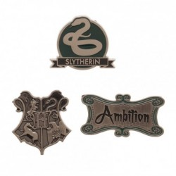 Lot de 3 Badges Serpentard...