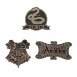 Lot de 3 Badges Serpentard...