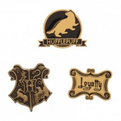 Lot de 3 Badges Poufsouffle...